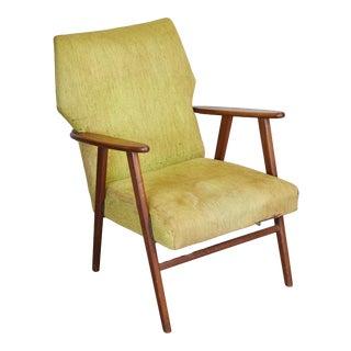 1960s Mid Century Modern Danish Lounge Chair For Sale