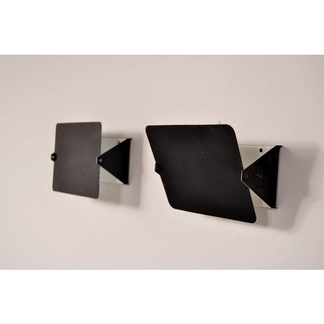 Pair of Charlotte Perriand CP1 Wall Sconces for Steph Simon, France, circa 1960 - Image 3 of 7