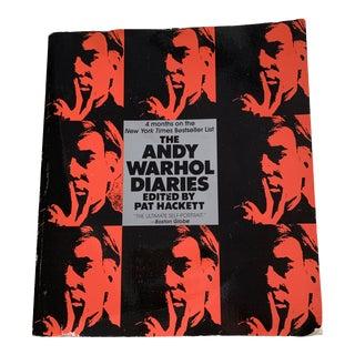 Andy Warhol Paperback Vintage Book For Sale