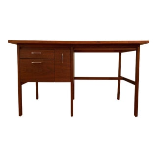 Paul McCobb Lane Delineator Rosewood and Walnut Desk For Sale