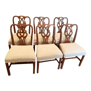 Vintage Baker Dining Chairs #789 - Set of 6 For Sale