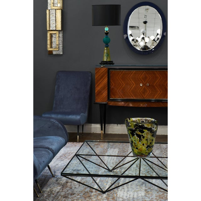 1980s Murano Glass Geometric Lamp For Sale - Image 5 of 11