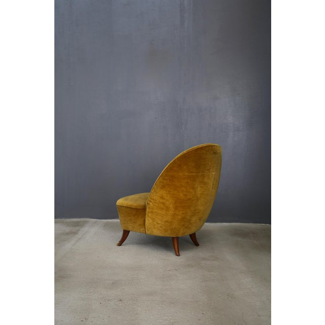 Guglielmo Ulrich Guglielmo Ulrich Armchairs From 1950 With Original Fabric For Sale - Image 4 of 6