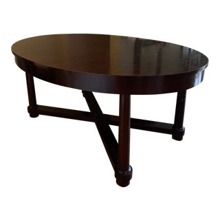 Transitional Barbara Barry Collection by Baker Dining Table For Sale