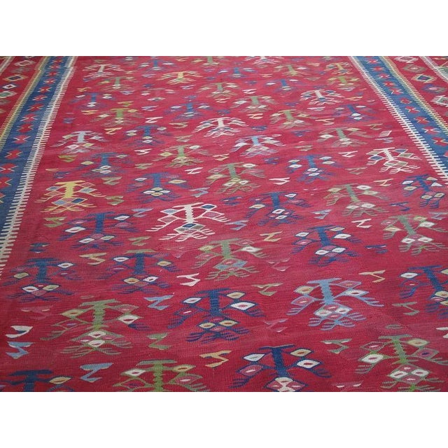 Islamic Antique Sharkoy Kilim For Sale - Image 3 of 9
