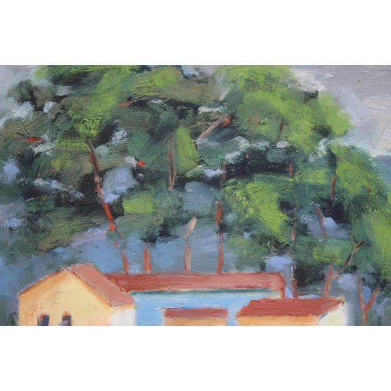 Meeker Slough Contemporary Plein Air Painting For Sale - Image 4 of 7