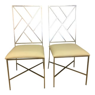 Worlds Away Dining Chairs - a Pair