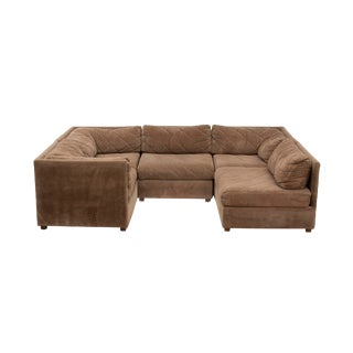 Modular Sectional Sofa by Selig, 5 Pieces For Sale