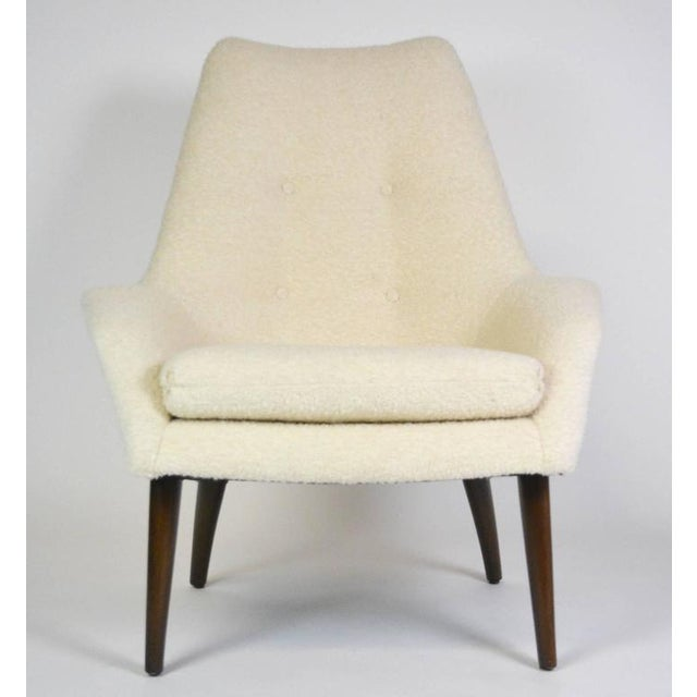 Early 20th Century Mid-Century Modern Danish Lounge Chair For Sale - Image 5 of 6