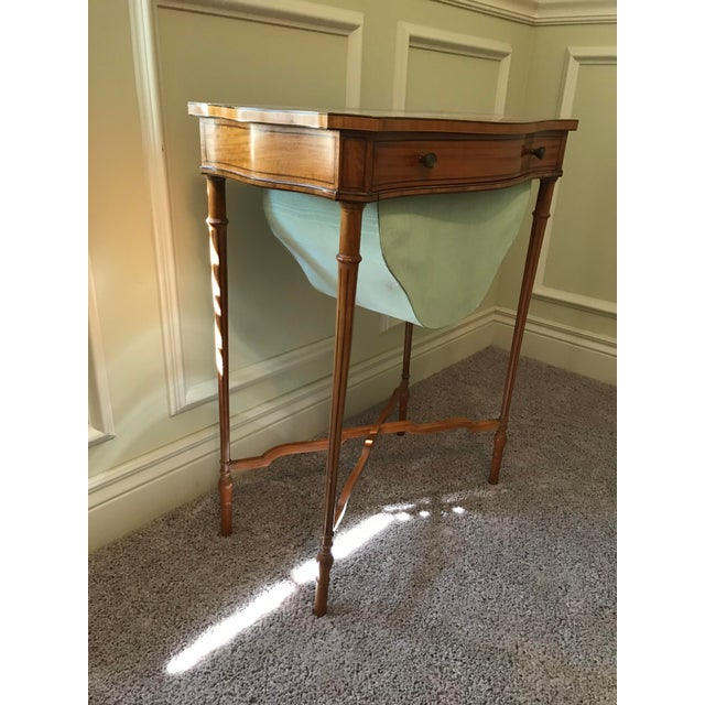 Edwardian 19th Century Edwardian Sewing Table For Sale - Image 3 of 8