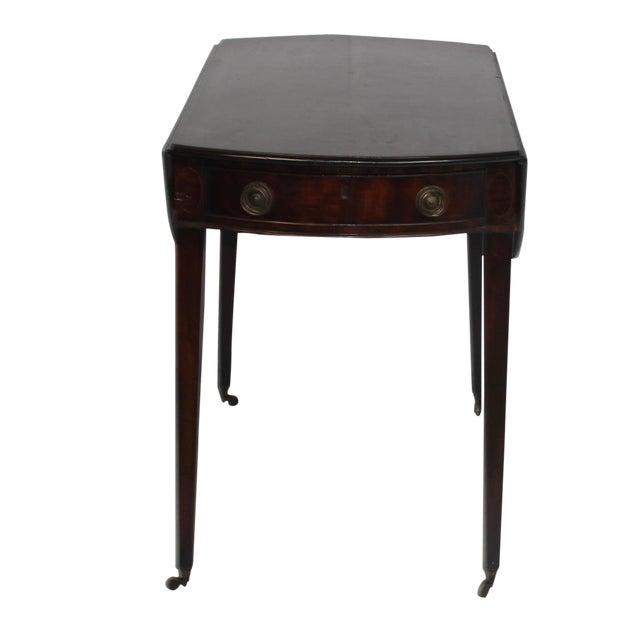 19th Century English Mahogany Pembroke Table - Image 1 of 5