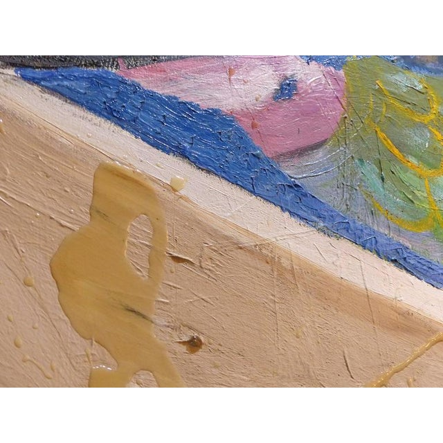 """20th Century Abstract by William Rabinovitch Titled """"Mermaid and Dolphin"""" For Sale In Miami - Image 6 of 8"""