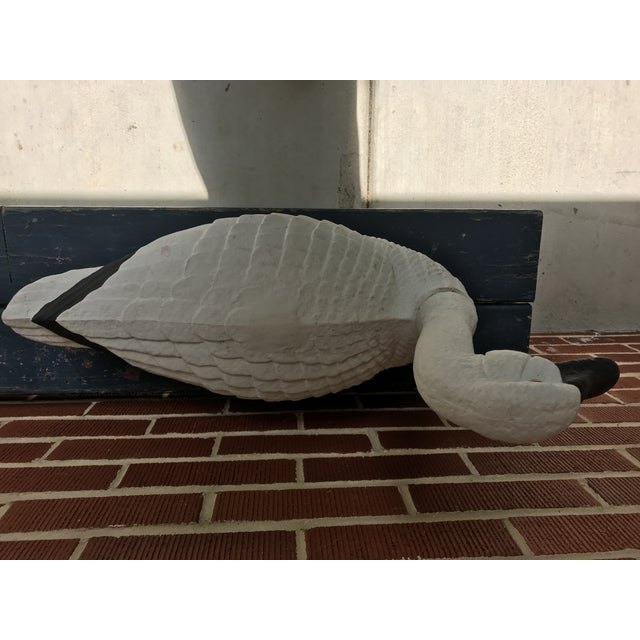 Paper Paper Mache Swan - Large For Sale - Image 7 of 11