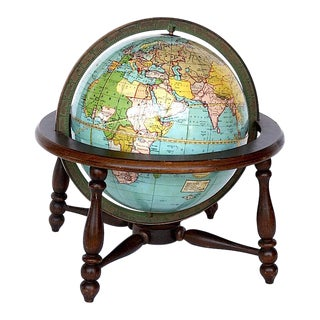 Vintage Weber Costello Desk Globe For Sale