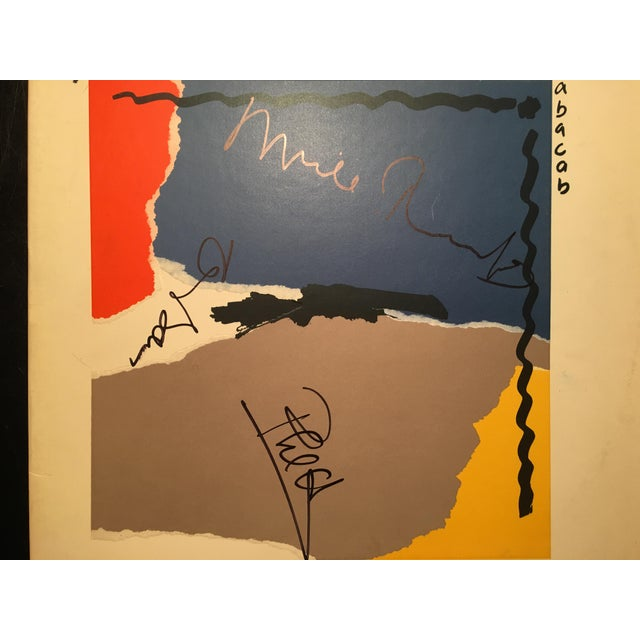 Modern Genesis Autographed 'Abacab' Album Cover For Sale - Image 3 of 6