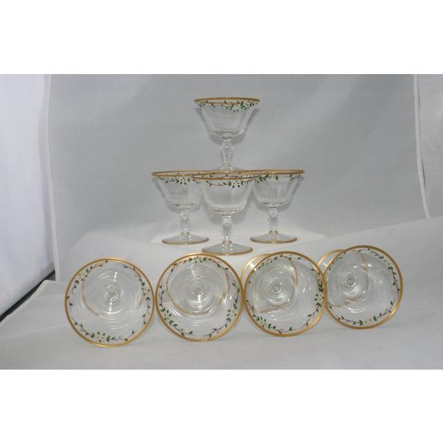 Vintage Footed Cocktail Glasses - Set of 8 - Image 4 of 5