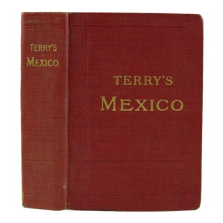 Terry's Guide to Mexico With Maps, 1909 For Sale