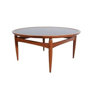 1960s Vintage Ejvind Johansson Danish Modern Flip-Top Coffee Table For Sale
