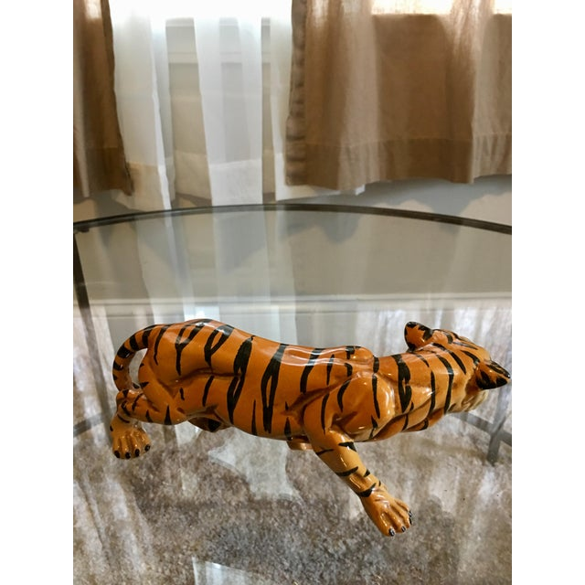 1970's Italian Terracotta Tiger - Image 5 of 8