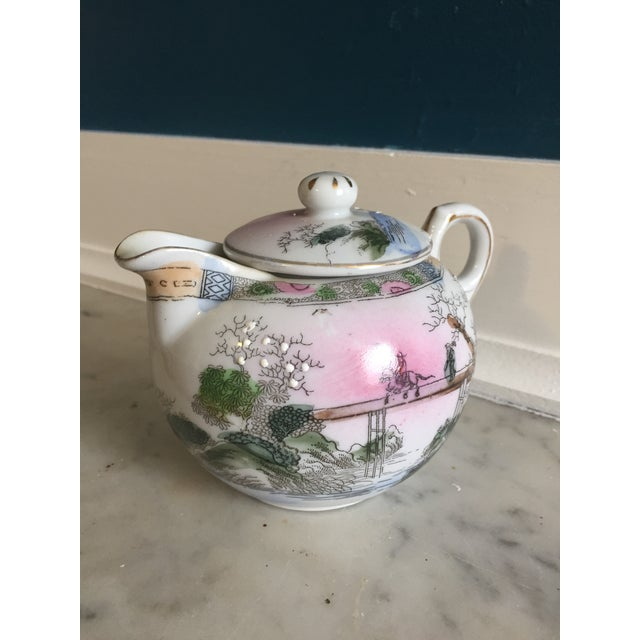 Japanese Vintage Tea Pot - Image 2 of 5