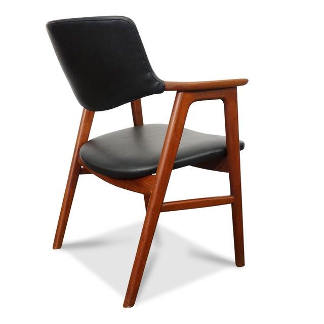 Høng Stolefabrik Mid Century Modern Erik Kirkegaard Desk Chair - Fjellerup For Sale - Image 4 of 6