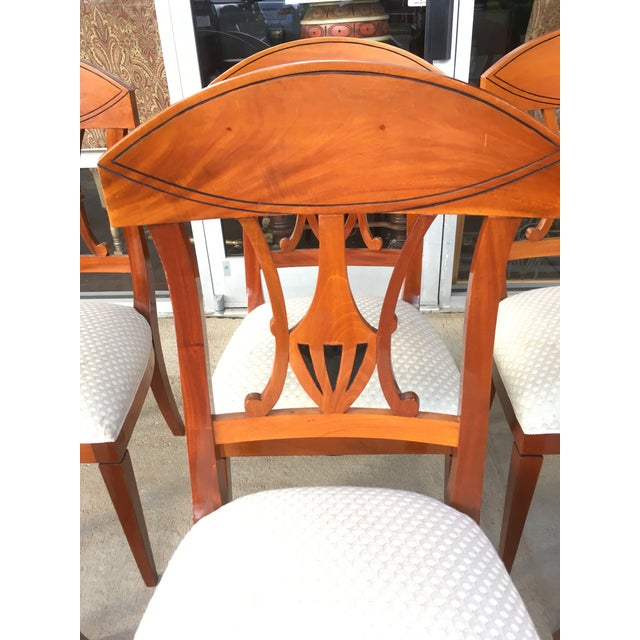 Traditional 1990s Regency Dining Chairs - Set of 8 For Sale - Image 3 of 6