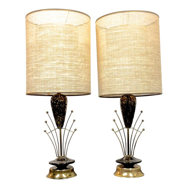 Art Deco Lamps - A Pair - Image 1 of 7