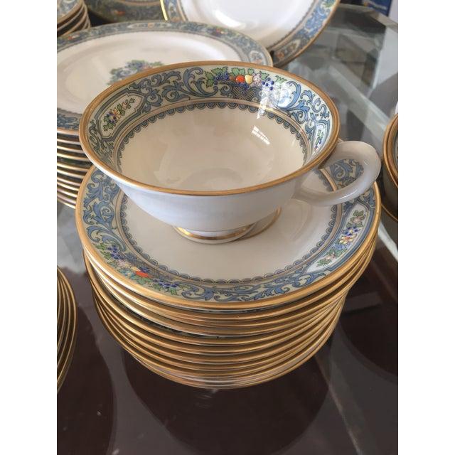 5-Piece Lenox Autumn China Setting- Set of 12 - Image 4 of 11