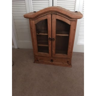 Rustic Pine Southwestern Cabinet Preview