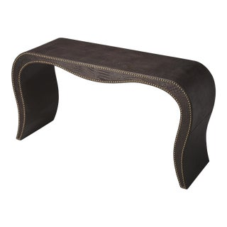 Butler Specialty Milano Leather Console Table