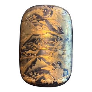 Fine Japanese Lacquered Inro by Yutokusai For Sale