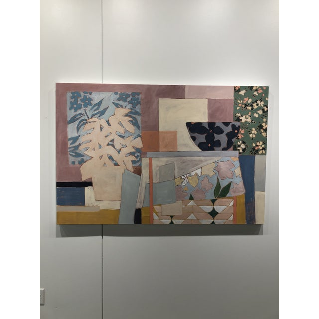 Contemporary Amongst the Chaos, Contemporary Interior Painting by Taelor Fisher For Sale - Image 3 of 6