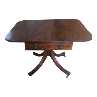 1815 Traditional George III Mahogany Side Table For Sale