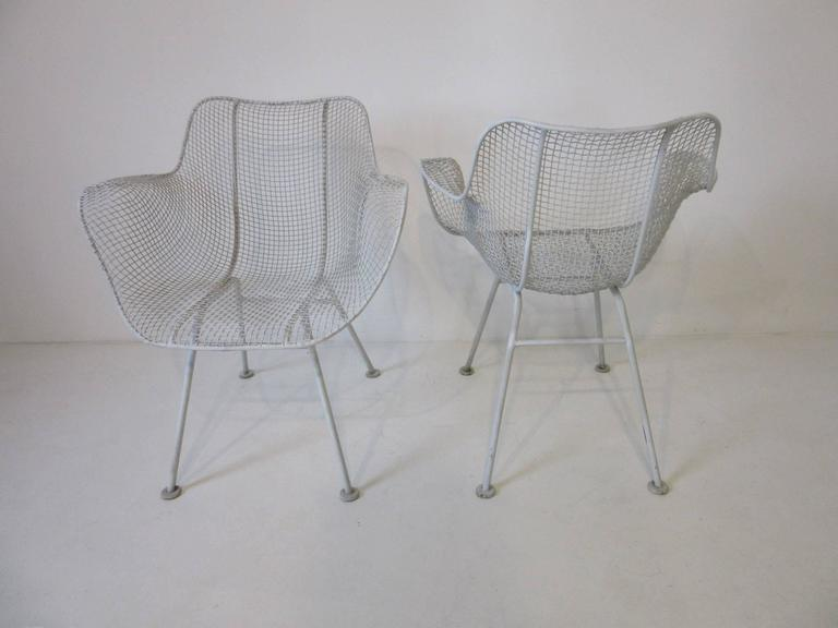 woodard sculptura wire chair metal wire center