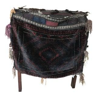 1800s Antique Balluchi Camel Saddle Bag For Sale
