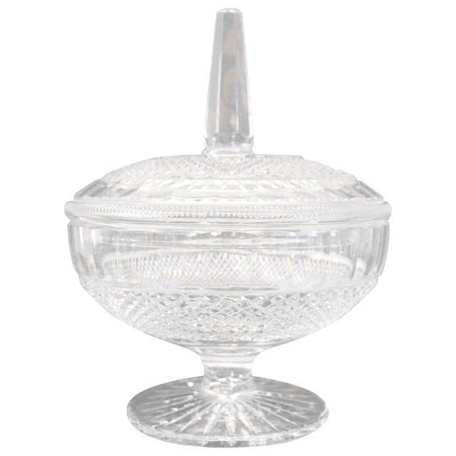 20th Century Crystal Centrepiece, 1980s For Sale