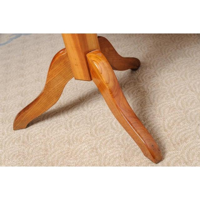 Biedermeier sewing table For Sale - Image 9 of 11