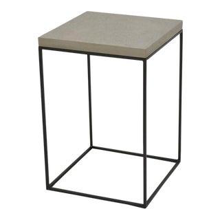 Sarreid Ltd. Concrete Board Top Side Table