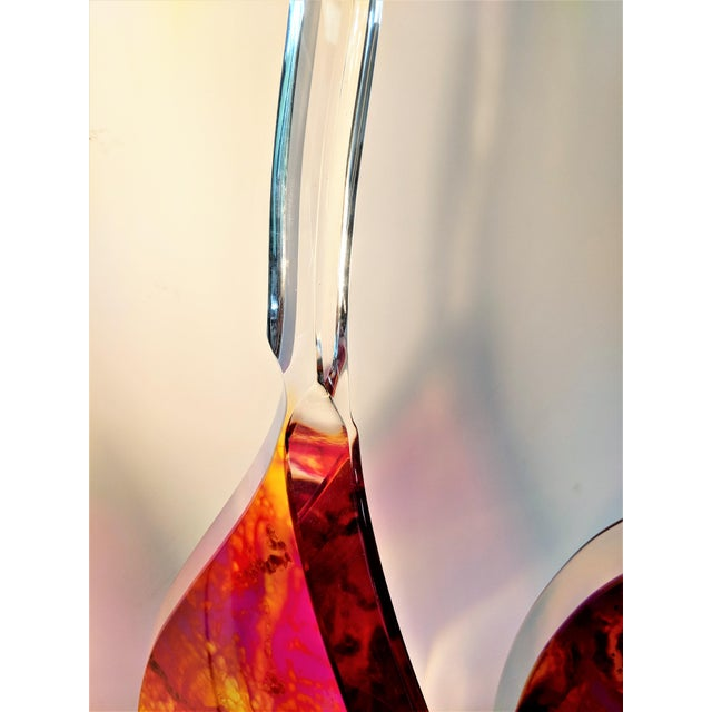 2010s Gaetano Pesce Style Mid-Century Lucite Sculptures - Set of 3 For Sale - Image 5 of 13