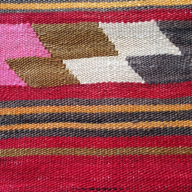 Vintage Kilim Pillow - Image 3 of 5