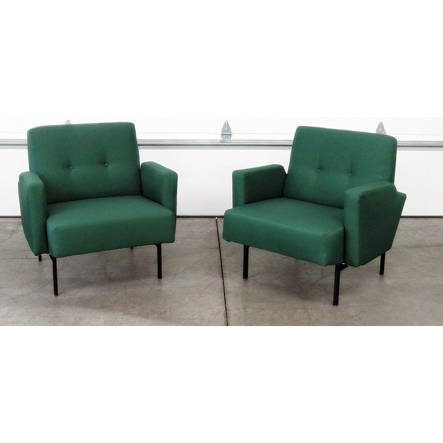 Pair of Italian Modern Club Chairs - Image 5 of 5