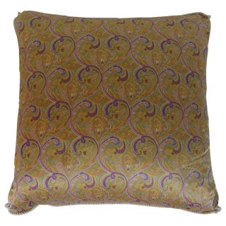 French Silk Down Filled Pillow For Sale