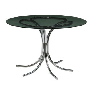 Italian Modern Dining Table in the Style of Bertoia, Circa 1970 For Sale