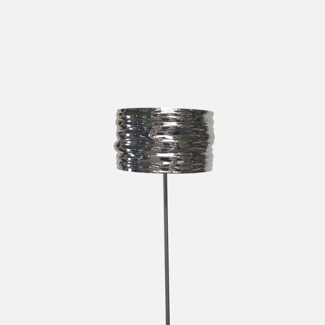 The Aqua Cil floor lamp by Artemide was molded with the influence of water as part of the design process, resulting in a...