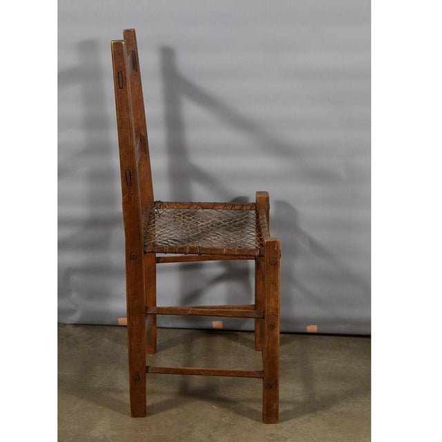 Wood Pair of Camp Chairs For Sale - Image 7 of 8