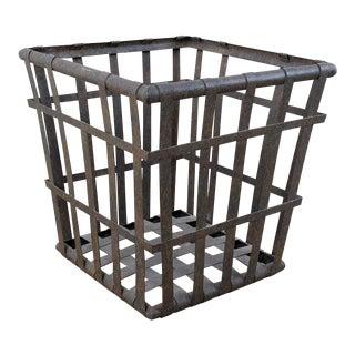 Rustic Metal Planter For Sale
