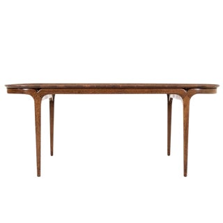 1950s Mid-Century Modern Paul Laszlo for Brown and Saltman Mahogany Dining Table For Sale