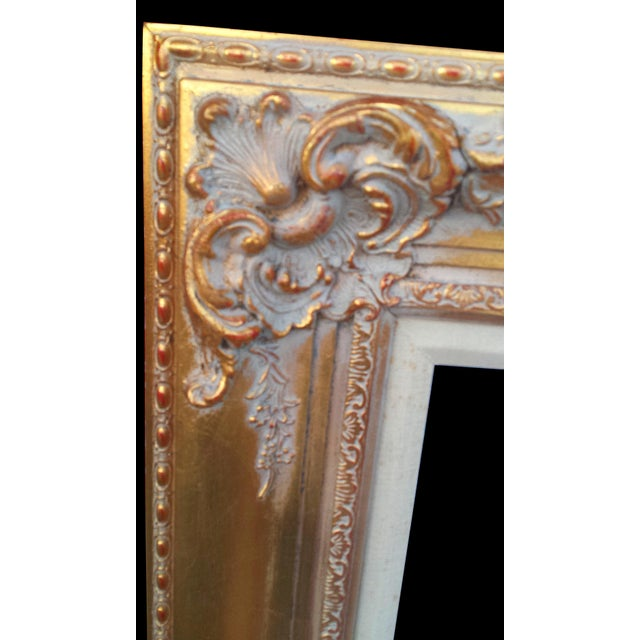 30a431c926a2 Large Golden Gilded Wood Italian Baroque Picture Mirror Frame 16