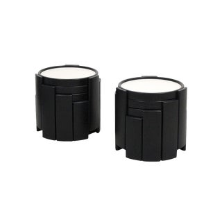 Gianfranco Frattini for Cassina Stacking Nesting Tables - a Pair For Sale
