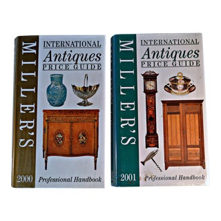 Miller Antique Price Guide 2000 & 2001 - A Pair For Sale
